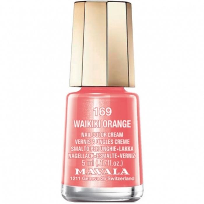Vernis waikiki orange 169 Mavala-147169