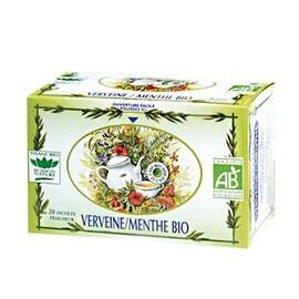 Verveine / menthe - 20.0 unites - tisanes simples bio - romon nature -16204