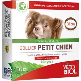 Vetobiol antiparasitaire externe collier petit chien 38cm - vétobiol -216353