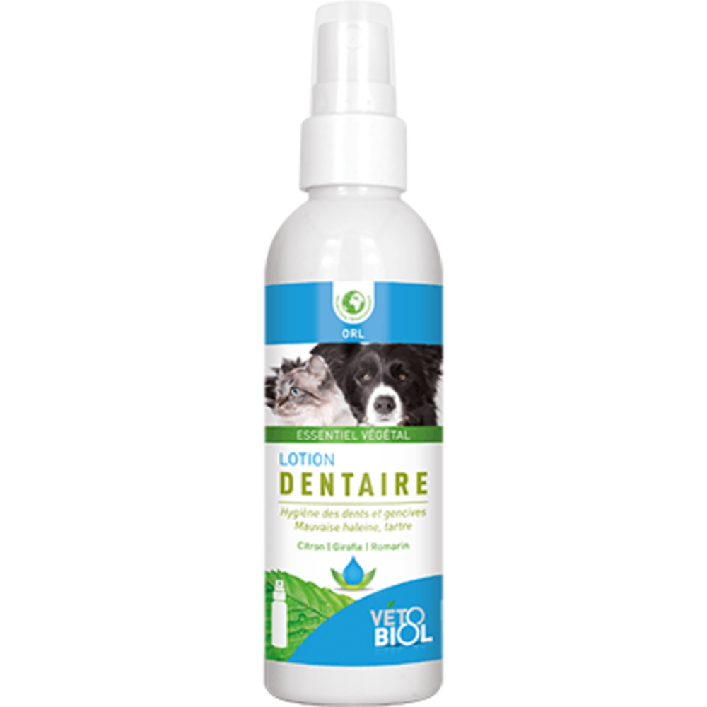 Vetobiol lotion dentaire 100ml - vétobiol -216355