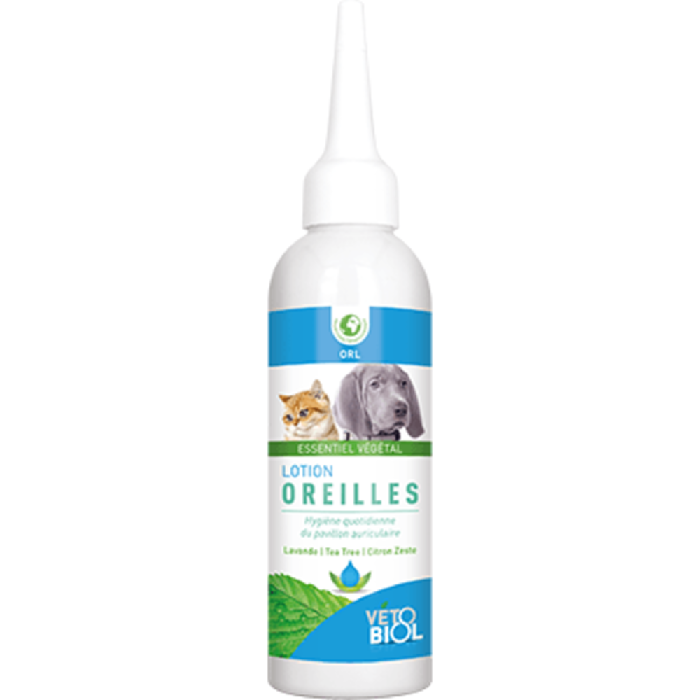 Vetobiol lotion oreilles 100ml - vétobiol -216357