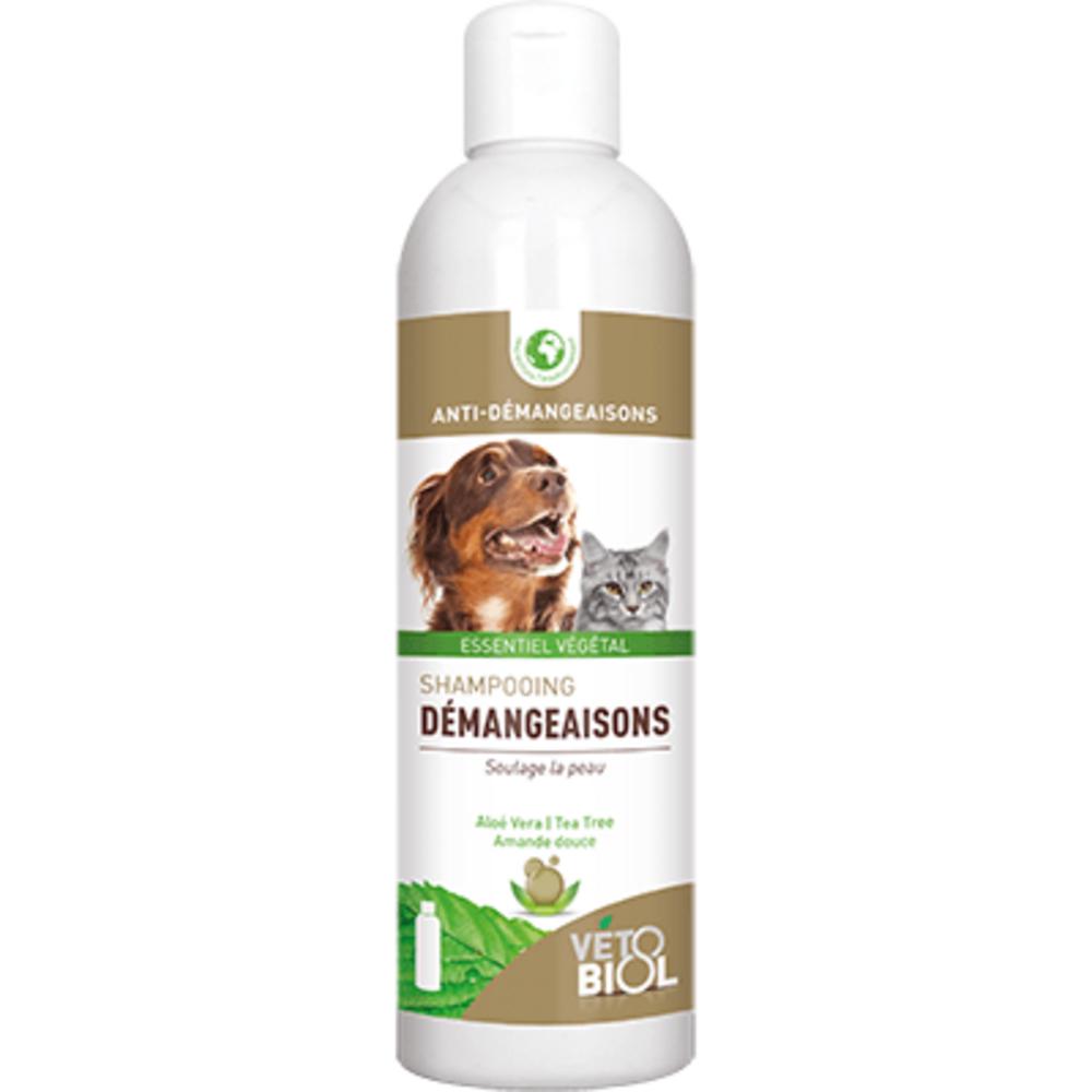 Vetobiol shampooing démangeaisons 200ml - vétobiol -216366