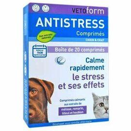 Vetoform anti-stress chien et chat 20 comprimés - vetoform -215003