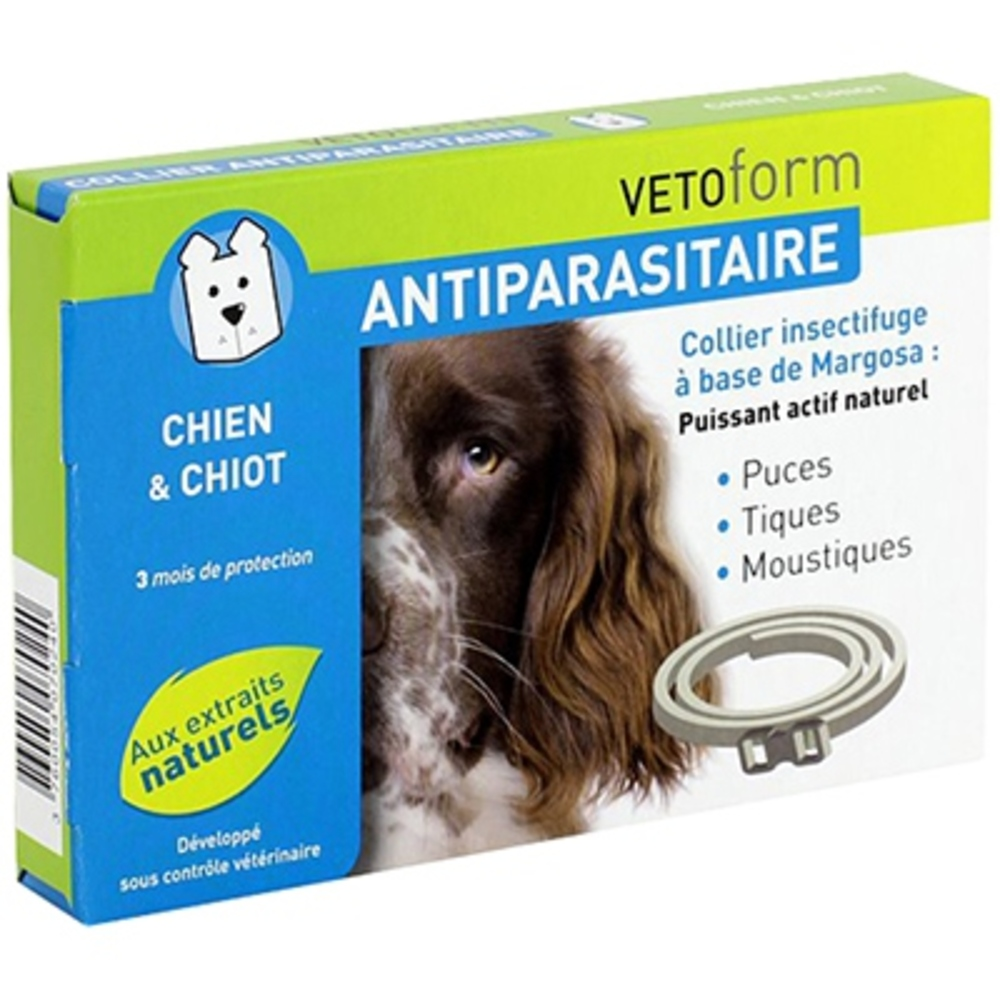 Vetoform collier antiparasitaire chien & chiot - vetoform -199748