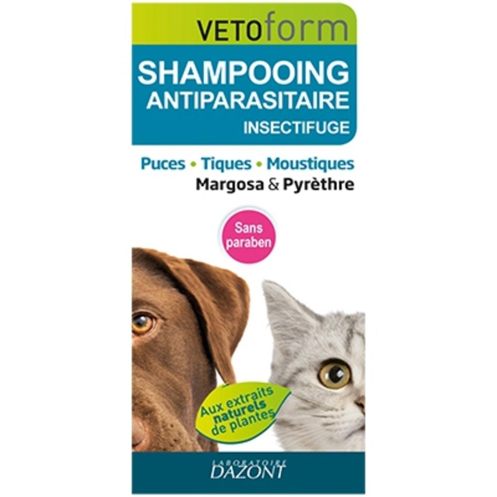 Vetoform shampooing anti-parasitaire - vetoform -203128