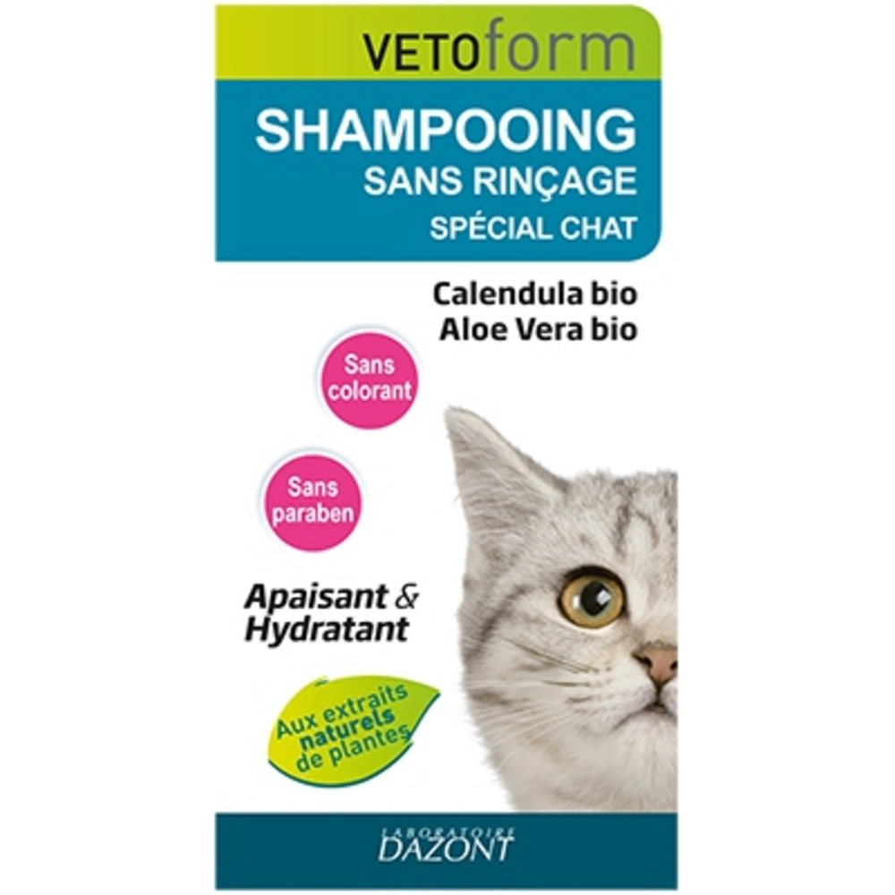 Vetoform shampooing sans rinçage chat - vetoform -202601