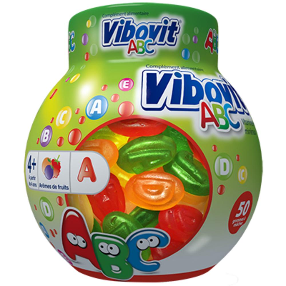 Vibovit abc vitamines minéraux +4ans 50 gommes - vibovit -206541