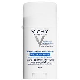 Vichy déodorant 24h toucher sec - stick - 40.0 ml - hygiene corporelle - vichy Pour peau très sensible ou épilée-82528