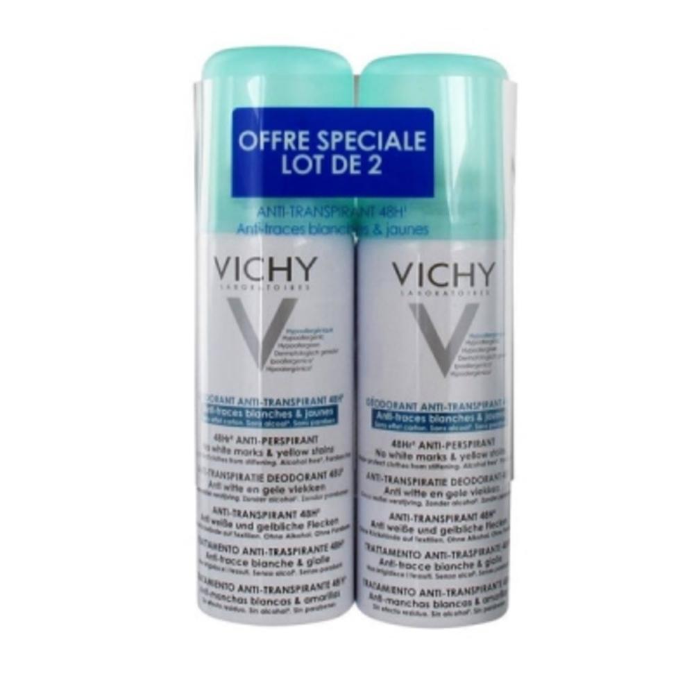 VICHY Déodorant Anti-transpirant Anti-traces - Lot de 2 - divers - Vichy -143118