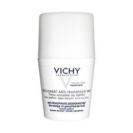 Vichy déodorant anti-transpirant peau sensible - 50.0 ml - hygiene corporelle - vichy Transpiration moyenne et peaux sensibles ou épilées-82579