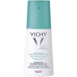 Vichy déodorant fraîcheur extrême 24h 100ml - 100.0 ml - hygiene corporelle - vichy Transpiration abondante et peaux normales-82395