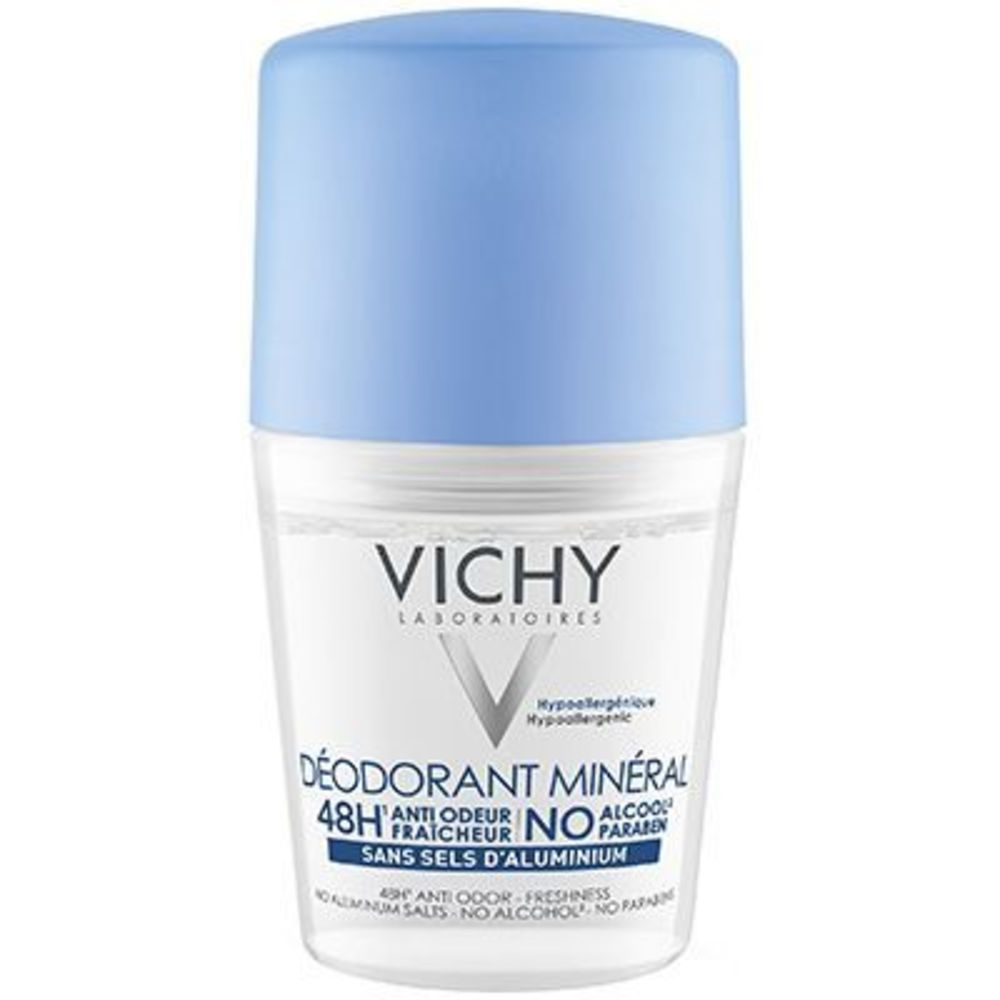 Vichy déodorant minéral roll-on 48h 50ml - 50.0 ml - vichy -216100