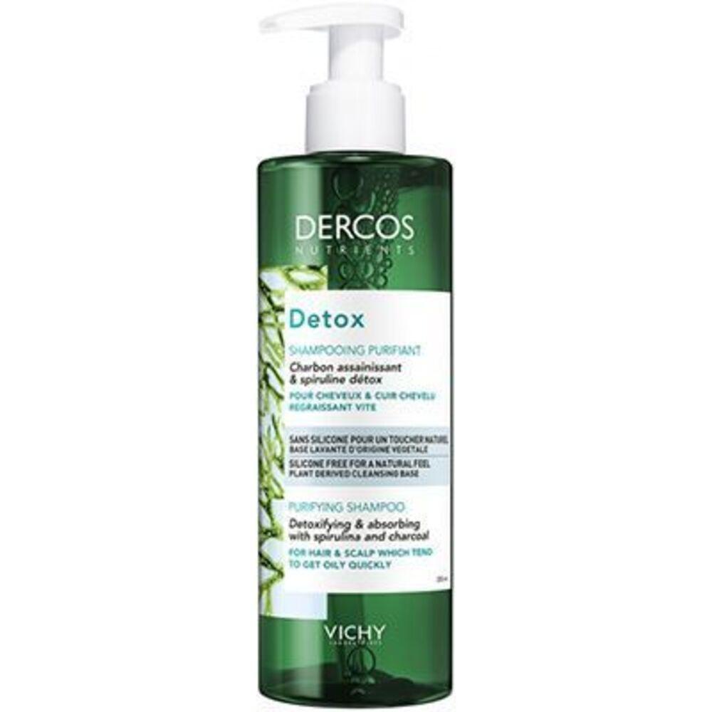 Vichy dercos nutrients detox shampooing purifiant 250ml Vichy-223164