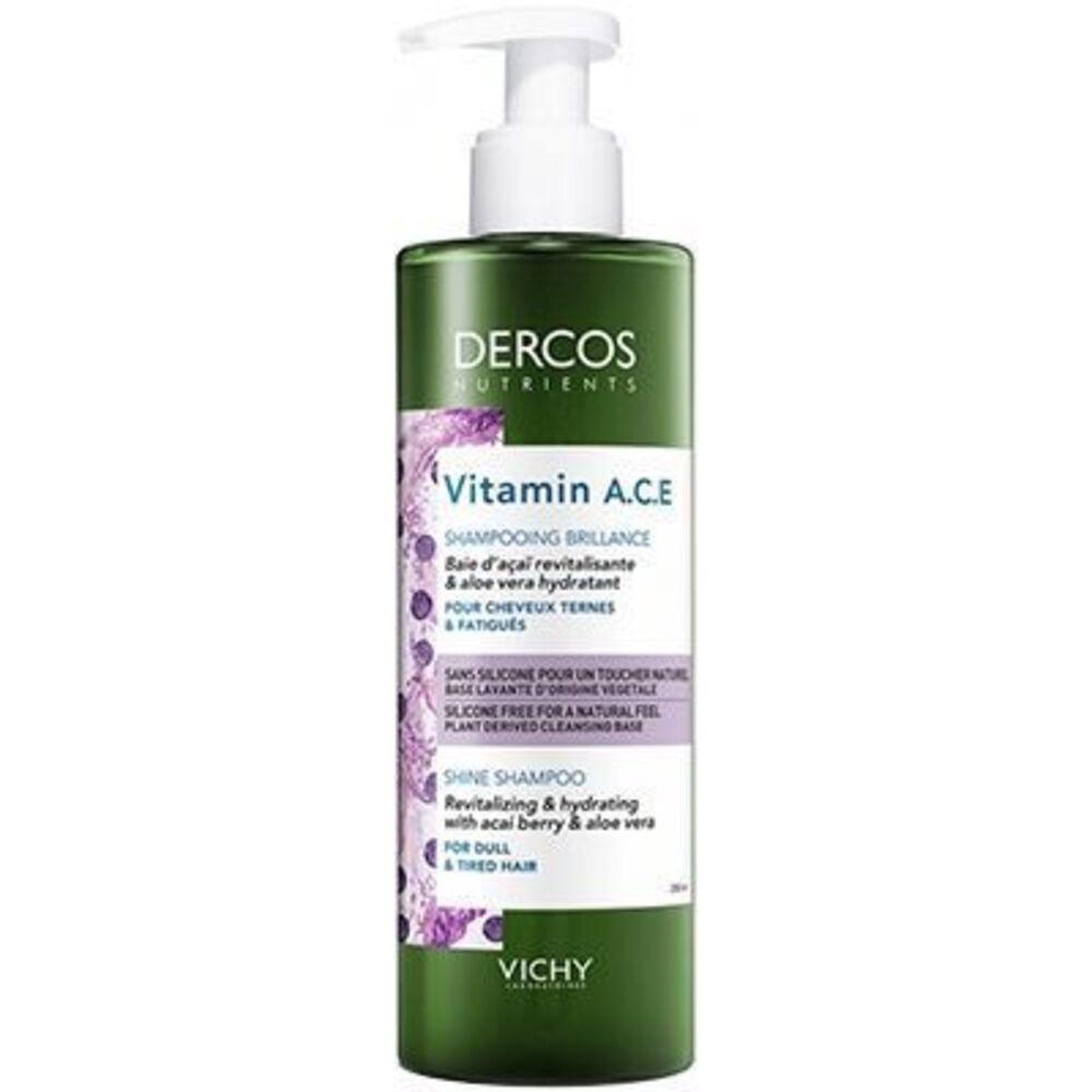 Vichy dercos nutrients vitamin a.c.e shampooing brillance 250ml Vichy-223166