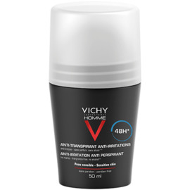 Vichy homme déodorant anti-transpirant 48h 50ml - 50.0 ml - vichy homme - vichy -99992
