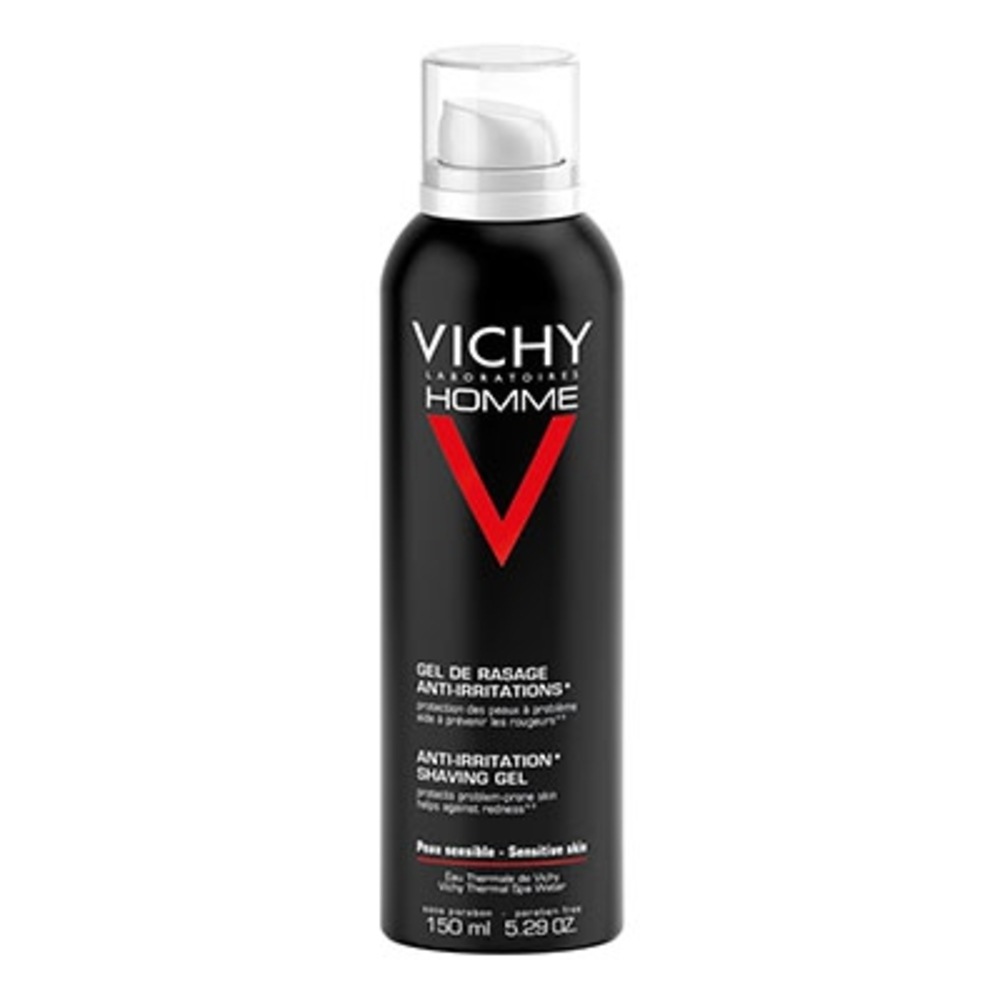 Vichy homme gel de rasage anti-irritations - 150.0 ml - vichy homme - vichy -83139