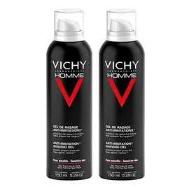 Vichy homme gel de rasage anti-irritations - lot de 2 - divers - vichy -143125