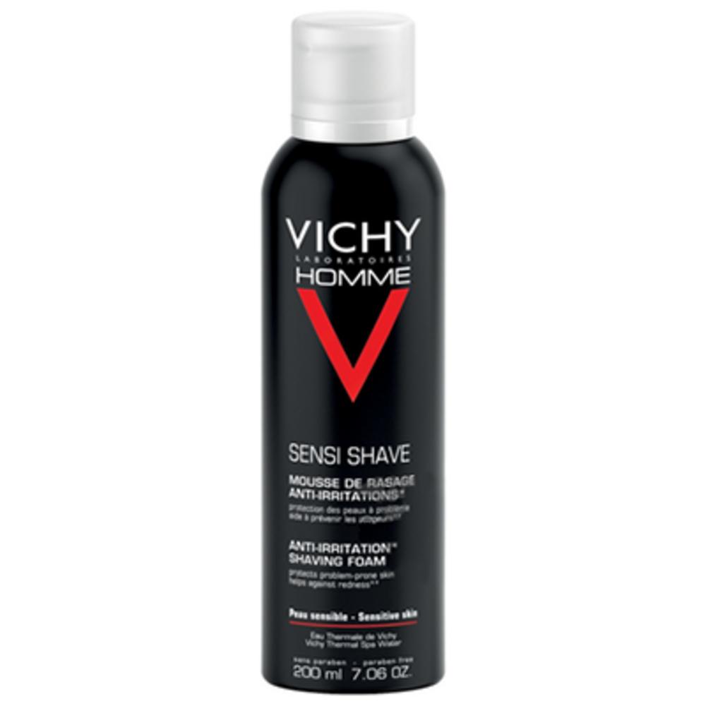 Vichy homme mousse à raser anti-irritations - 200ml - 200.0 ml - vichy homme - vichy -83138