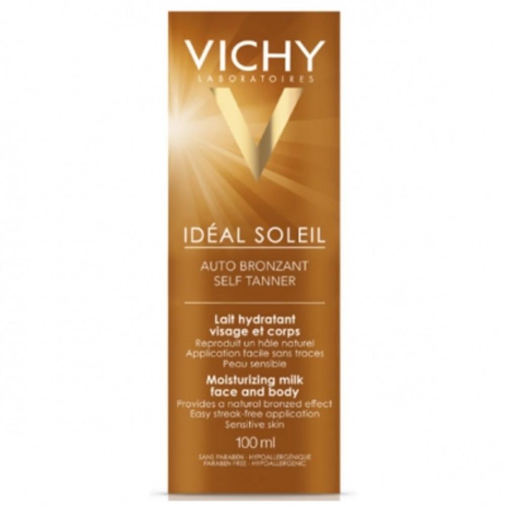 Vichy ideal soleil autobronzant lait - 100.0 ml - solaire - vichy -83500