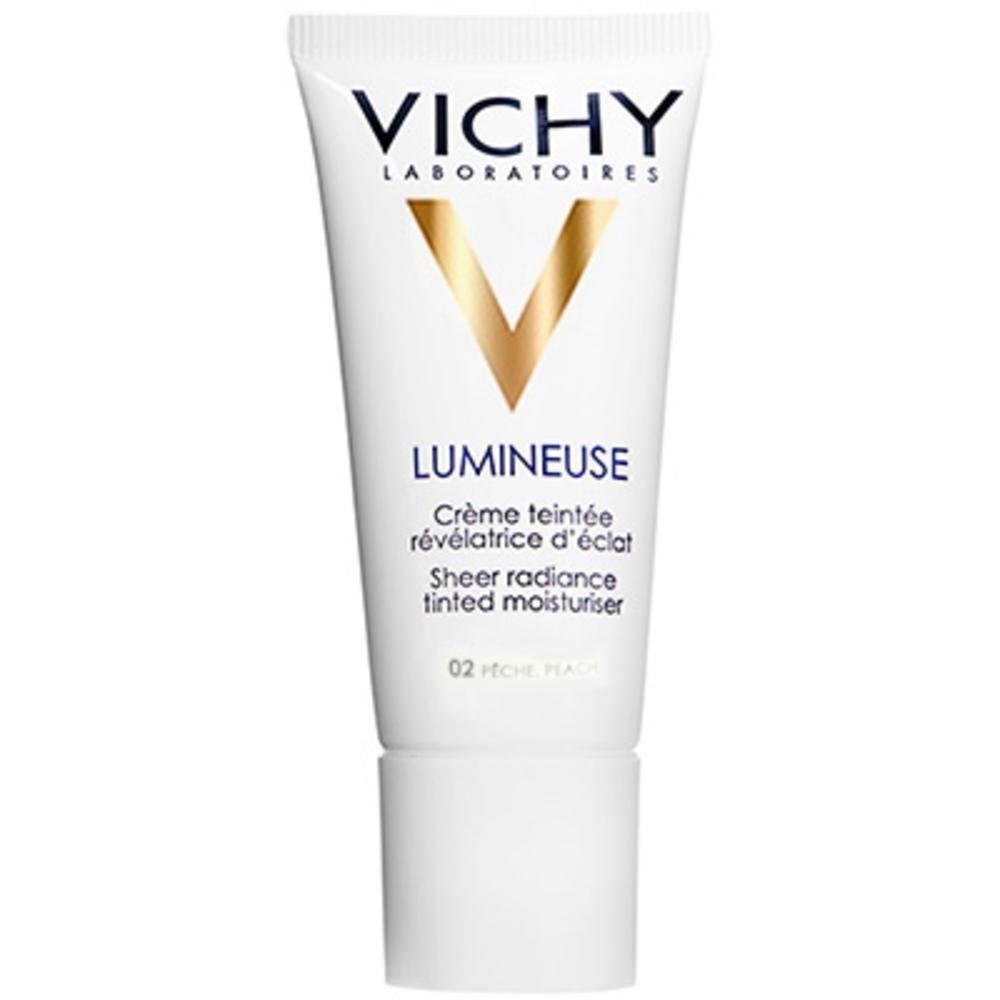 Vichy lumineuse peaux normales à mixtes 02 pêche - 30.0 ml - teint - vichy Crème teintée révélatrice d'éclat-83116