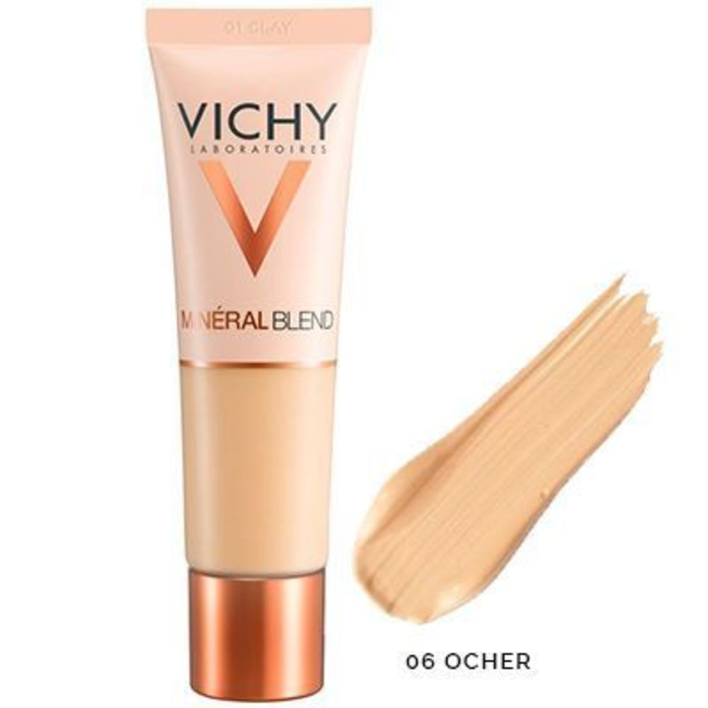 Vichy mineralblend fond de teint hydratant 06 ocher 30ml Vichy-222766