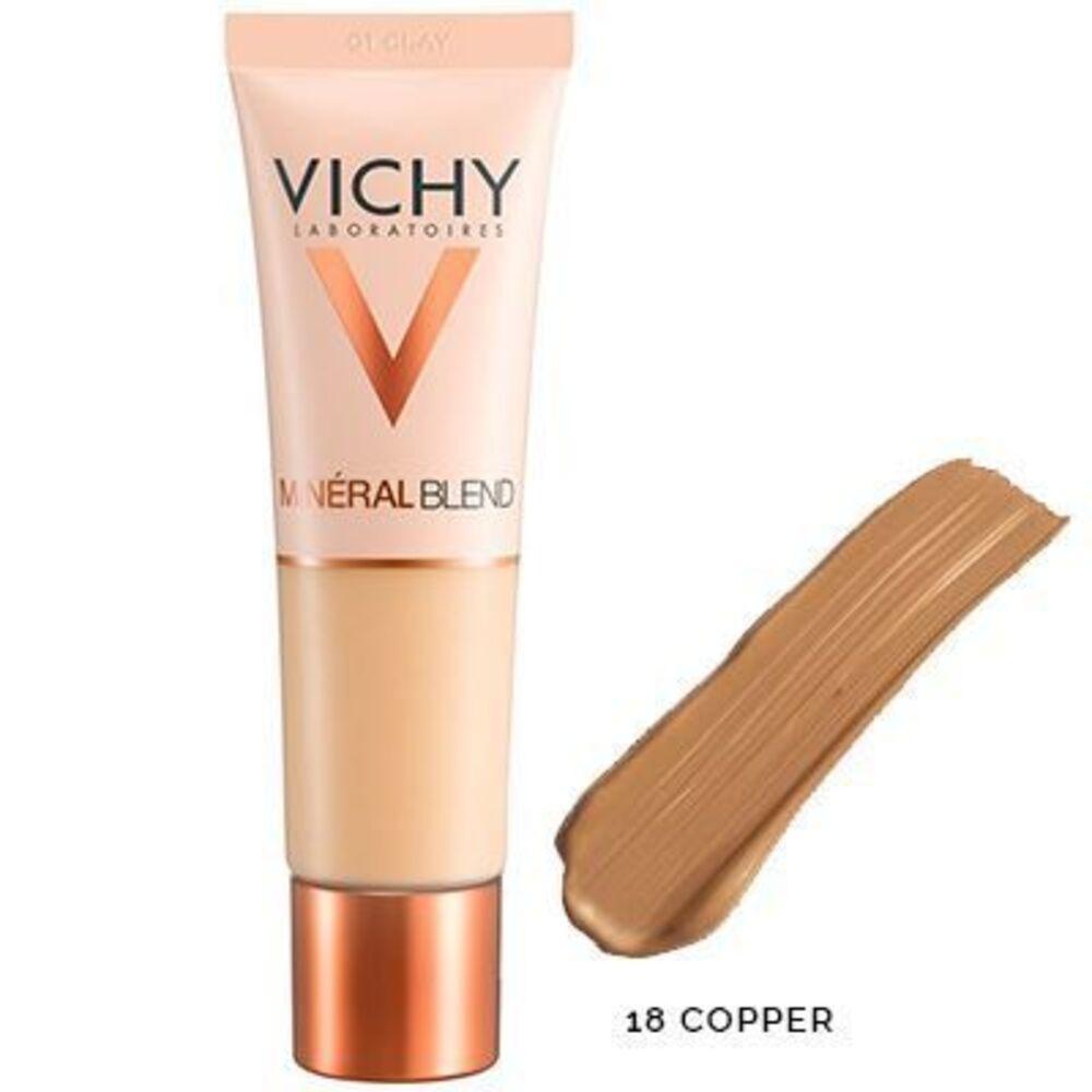 Vichy mineralblend fond de teint hydratant 18 copper 30ml Vichy-222771