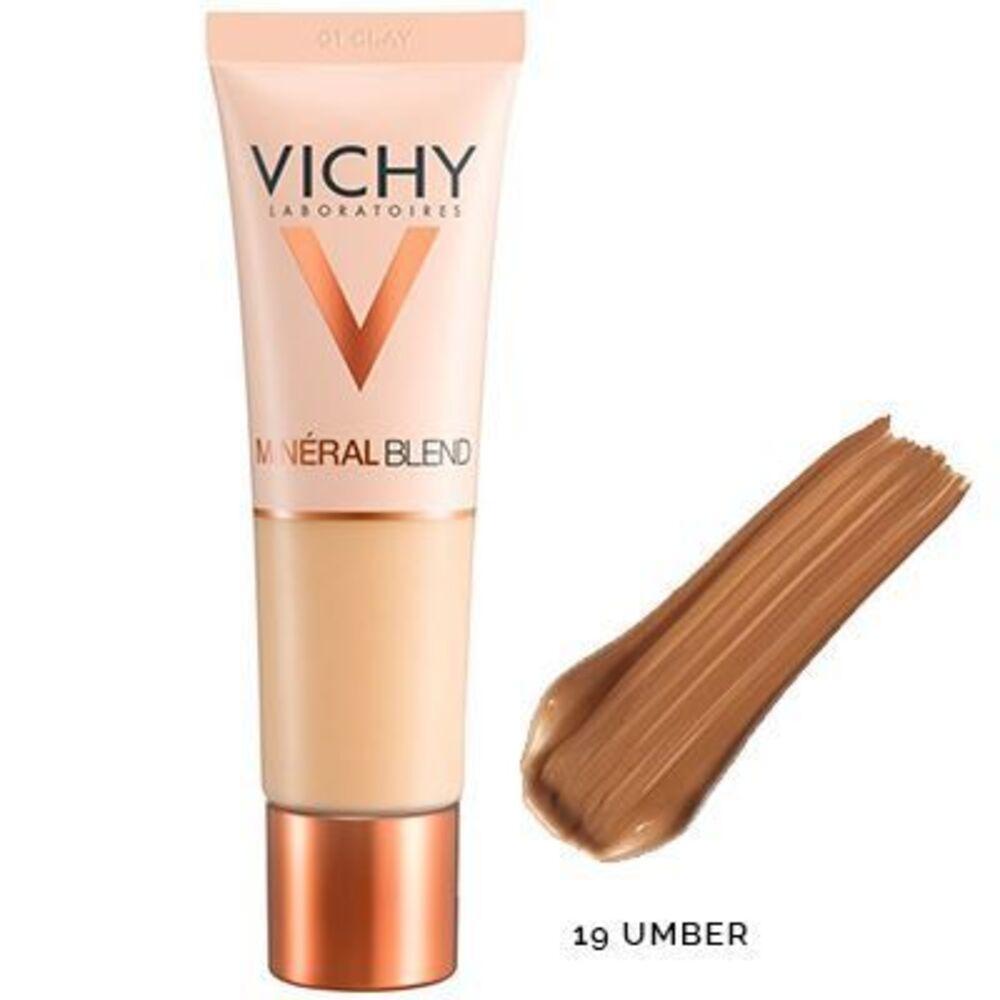 Vichy mineralblend fond de teint hydratant 19 umber 30ml Vichy-222772