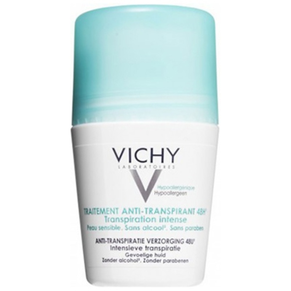 Vichy traitement anti-transpirant - 50.0 ml - hygiene corporelle - vichy Transpiration intense-82446