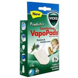 Vicks comforting vapopads romarin lavande 7 tablettes - 7.0 unites - diffuseur - vicks -140464