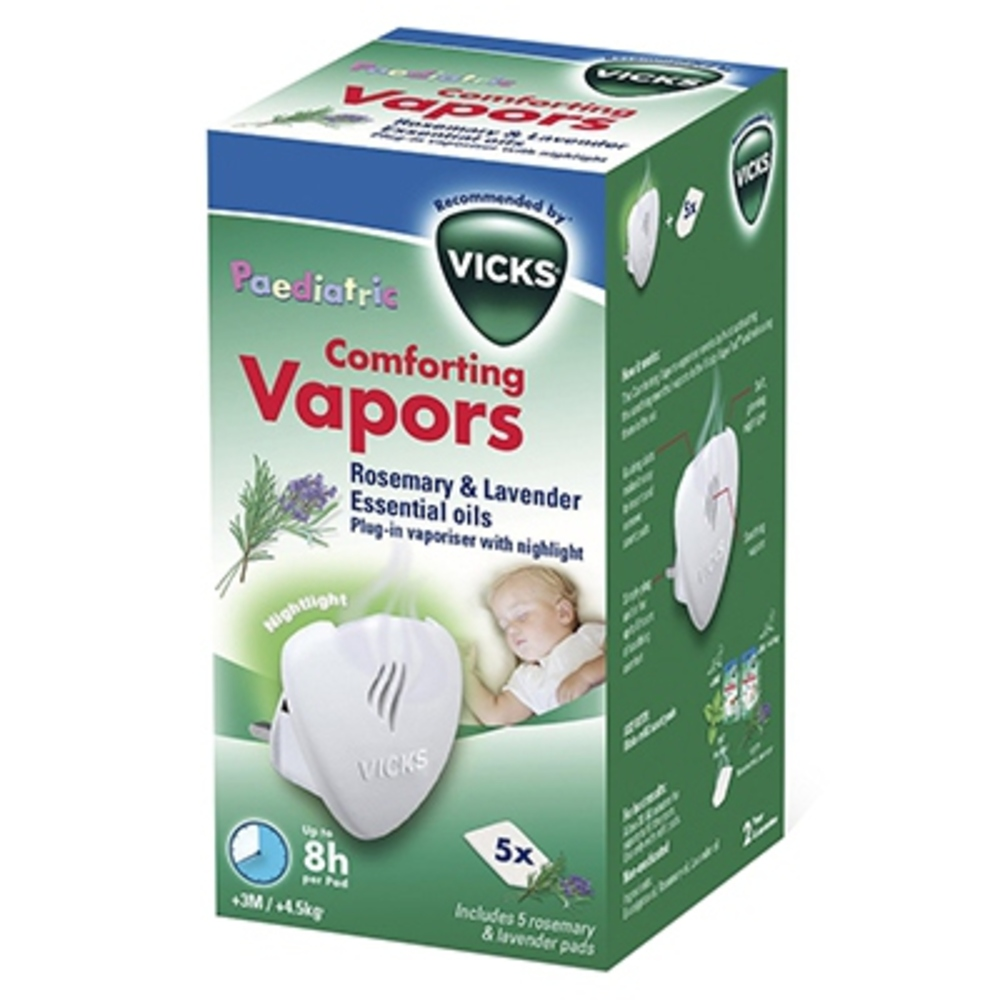Vicks comforting vapors lavande romarin - vicks -203495