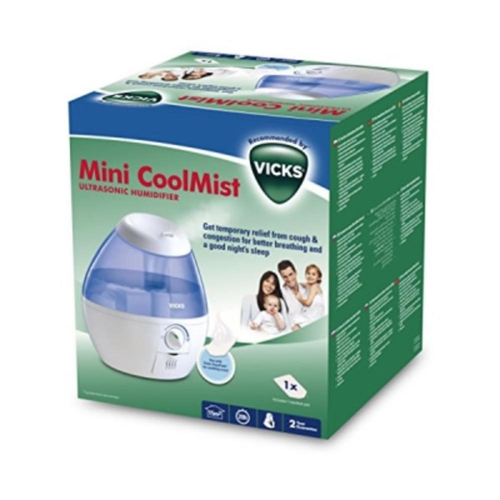 Vicks coolmist mini humidificateur ultrasonique à vapeur froide - vicks -210945