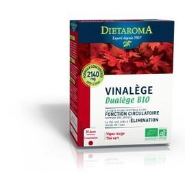 Vinalège dualège bio - 60 comprimés - divers - diétaroma -142026
