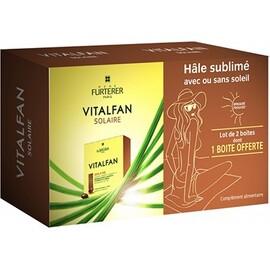 Vitalfan solaire 2x30 capsules - furterer -178259