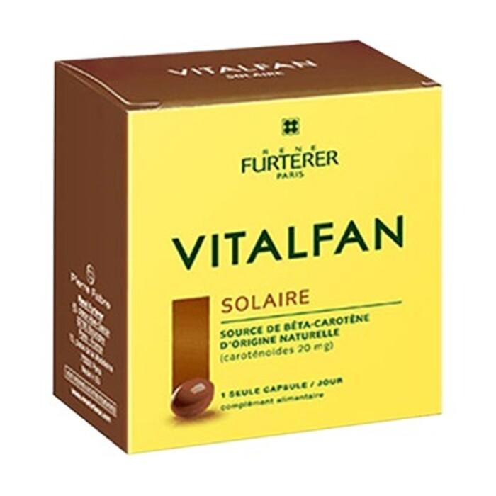 Vitalfan solaire 30 capsules Furterer-214339
