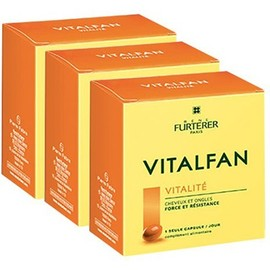 Vitalfan vitalité 3x30 capsules - furterer -213251