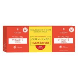 Vitalfan vitalité lot 3x30 capsules - furterer -225799