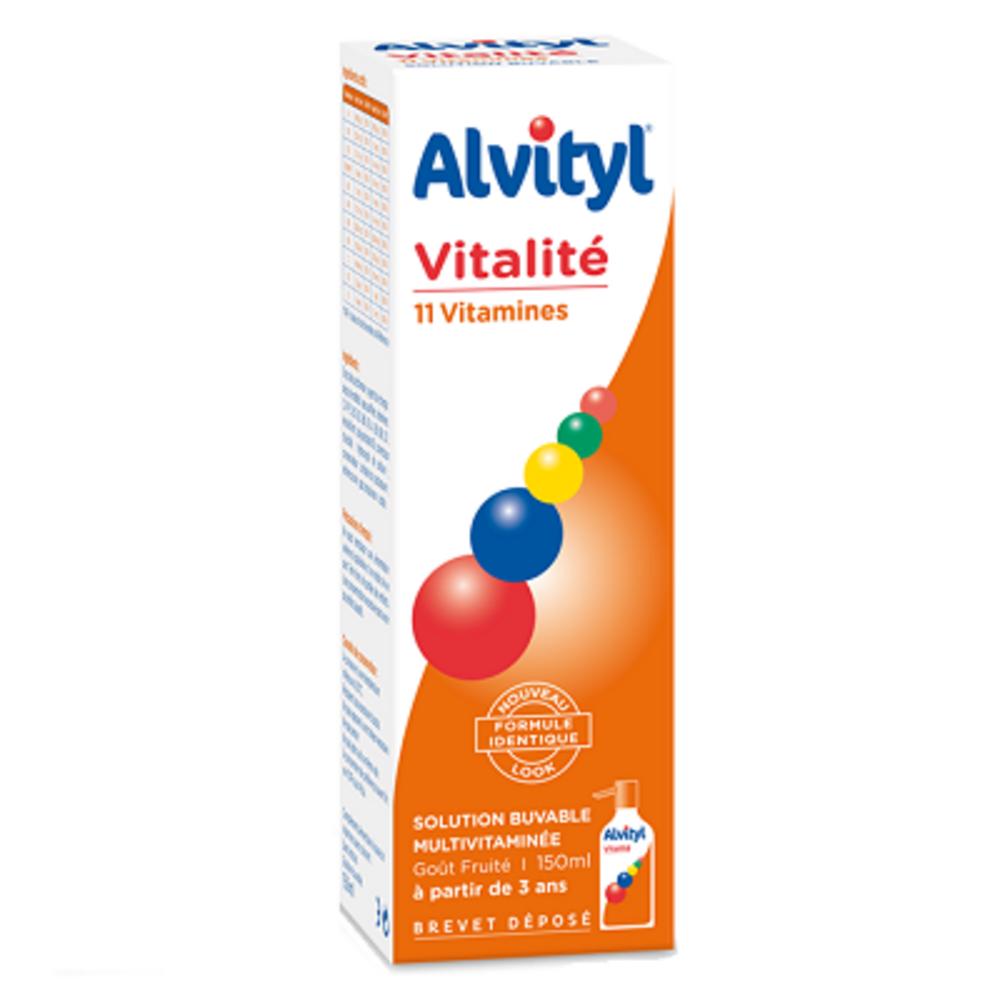 Vitalité solution buvable - 150.0 ml - alvityl -148246