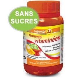Vitamin 22 gommes vitaminées - ineldea -204073