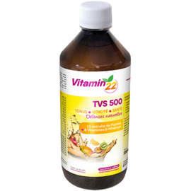 Vitamin 22 tvs500 tonus vitalité santé 500ml - ineldea -225431