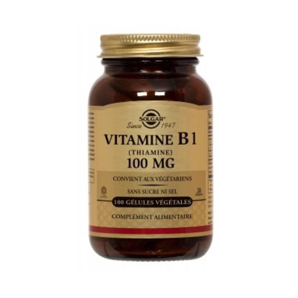 Vitamine b1 - solgar -196652