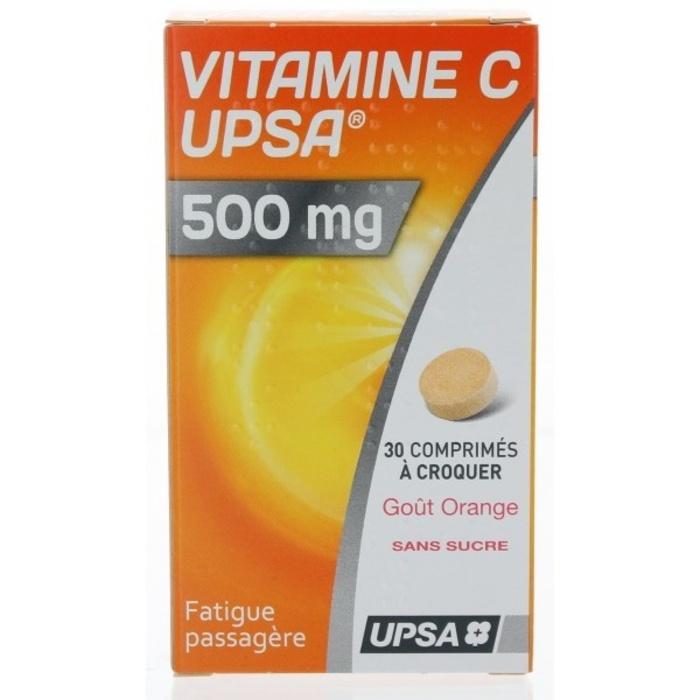 Vitamine c  500mg arome orange Upsa-192958