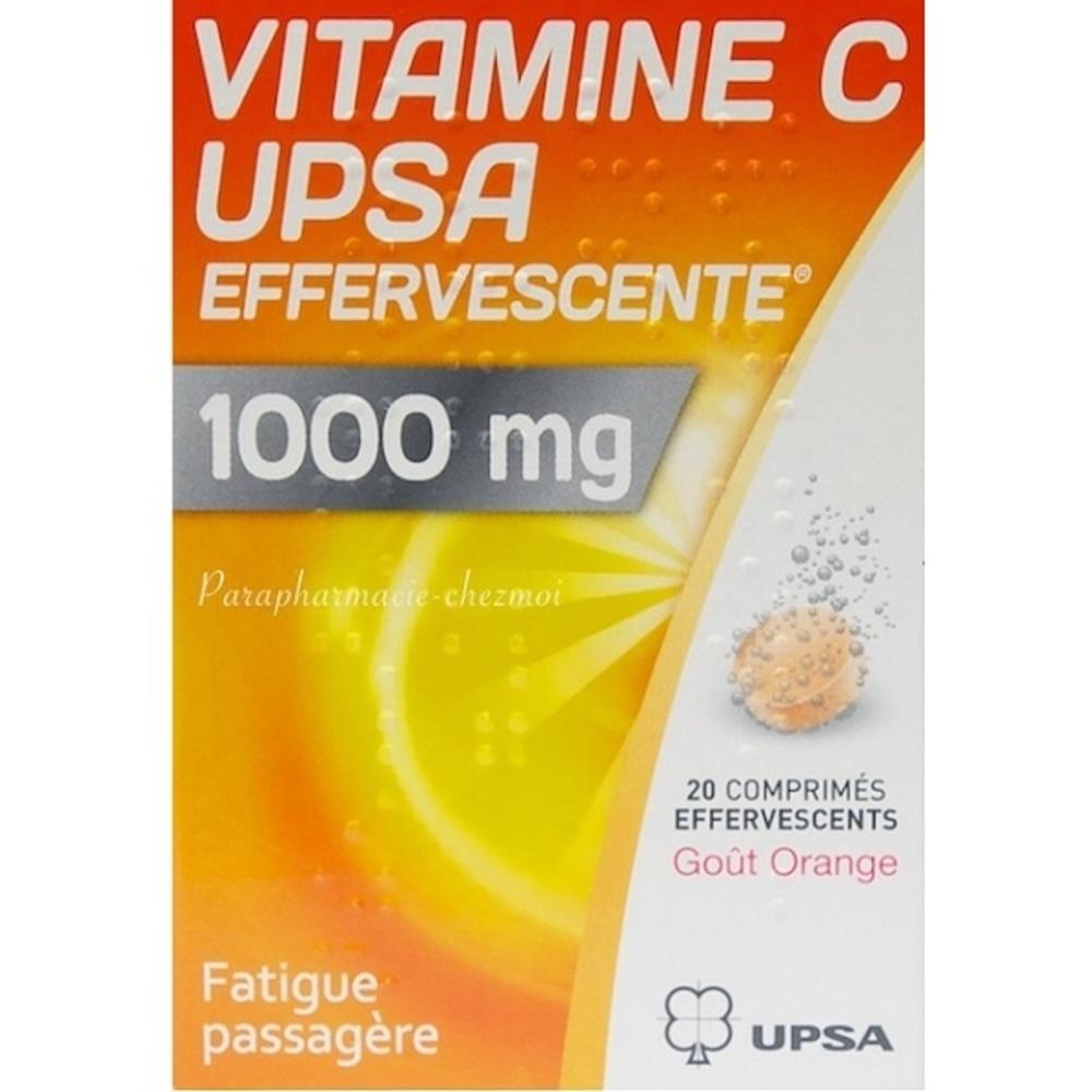Vitamine c  effervescente 1000mg - upsa -192444