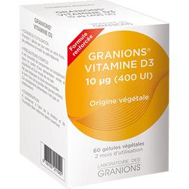 Vitamine d3 - 60 gélules végétales - granions -211131