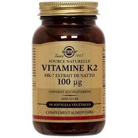 Vitamine k2 mk7 50 gélules - solgar -219065