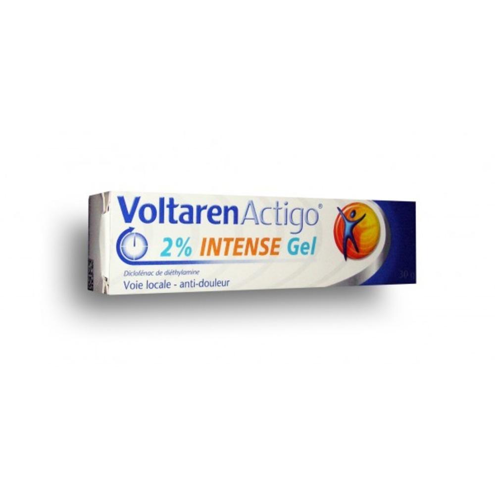 Voltarenactigo 2% intense gel - 30g - 30.0 g - novartis -192611