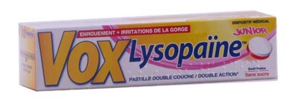 Vox lysopaine fraise junior - 18 pastilles - boehringer ingelheim -146327