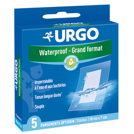 Waterproof grand format - 5 pansements - urgo -205259
