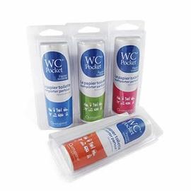 Wc pocket papier toilette bleu - 30 utilisations - wc pocket -205635