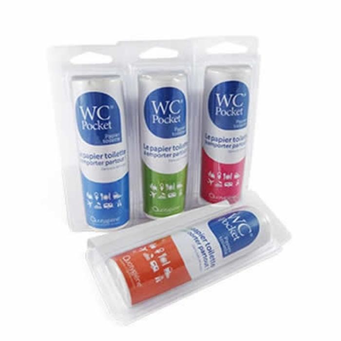 Wc pocket papier toilette orange - 30 utilisations Wc pocket-205634