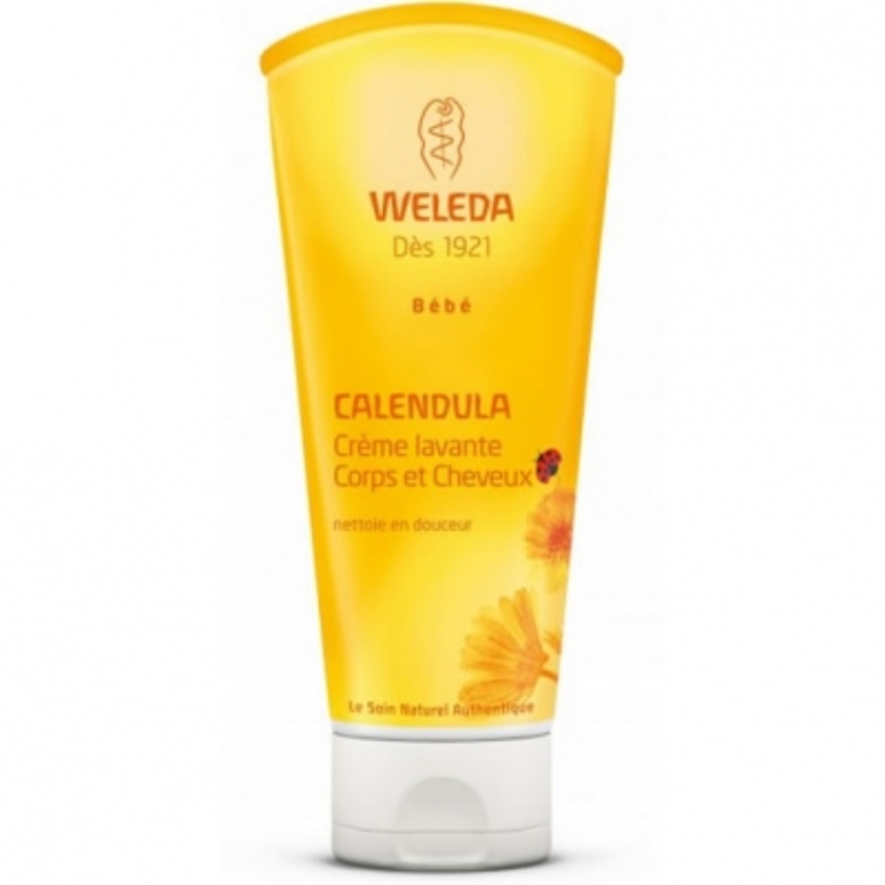 Weleda bébé calendula crème lavante - 200ml - 200.0 ml - bébé - weleda Nettoie en douceur-9720